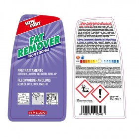 Profi-Vorbehandlungsmittel, Fleckenentferner, 24 x 750 ml Sprühflasche, zur Fleckdetachur bei fettig verschmutzten Textilien