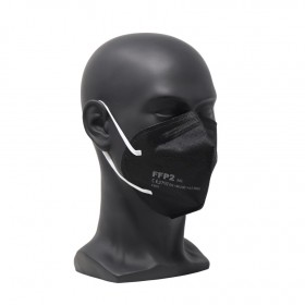 FFP2-Mundschutzmaske farbig original & zertifiziert, 100 Stk. Mund- & Nasenmaske, Einwegmaske, EN 149:2001 + A1:2009