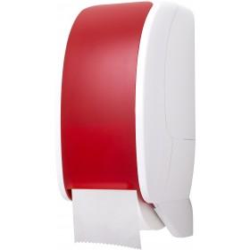 Toilettenpapierspender Doppelrollen, Blanc Cosmos, unschlagbar ergiebig, abschließbar, autom. Rollenwechsel, Restrollenfunktion