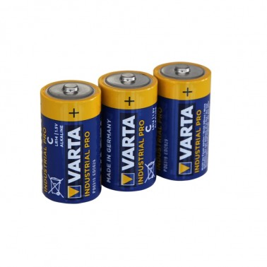 Batterie-Set, Energieversorgung, 3 Stück, für Hygienespender SENSOR frei befüllbar, Varta, Typ Industrial