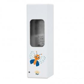 Universeller Hygienespender SENSOR Kids Edition frei befüllbar mit Desinfektion, Seife, Cremes für Euroflaschen bis zu 1.000 ml
