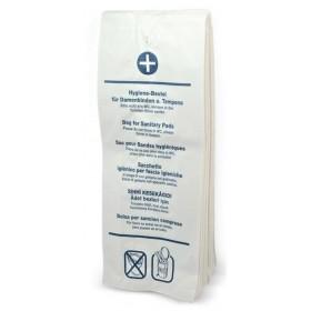 Damen-Hygienetüten/-beutel,  aus solidemPapier, weiss, 1.000 Damenhygienebeutel je SET