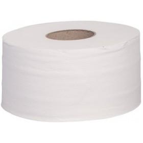 Toilettenpapier Jumbo Maxi 12 x 300m, 2-lagig, 100% Zellstoff, verstopfungsfrei, 12 Rollen je SET