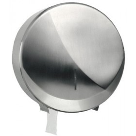 Jumbo-Toilettenpapierspender Futura Maxi, Edelstahl gebürstet, Kapazität: Ø max. 260 mm je Rolle