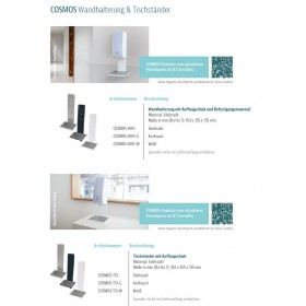 Desinfektionsspender Wandhalterung und Tischständer