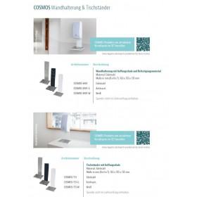 Übersicht Wandhalterung und Tischständer