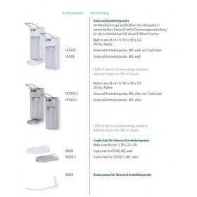 Blanc Hygienic Universal Armhebelspender Übersicht + Zubehör