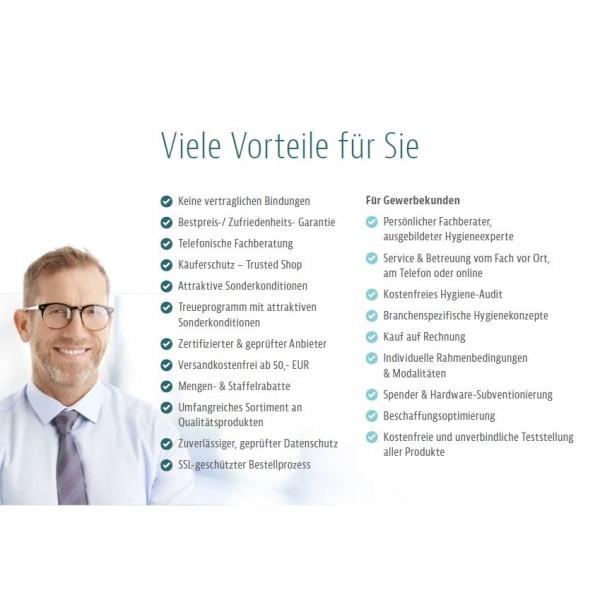 """Handtuchrollen """"Premium TAD"""" 6 Rollen je SET, 2-lagig, 100m je Rolle, 100% TAD-Qualität, für Blanc Cosmos Handtuchspender"""