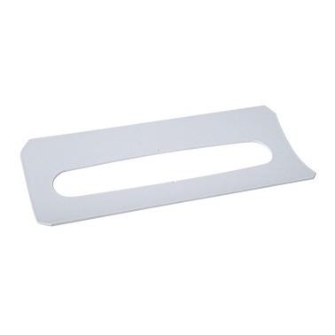 Ausgabeplatte für alle gängigen Falthandtuchspender