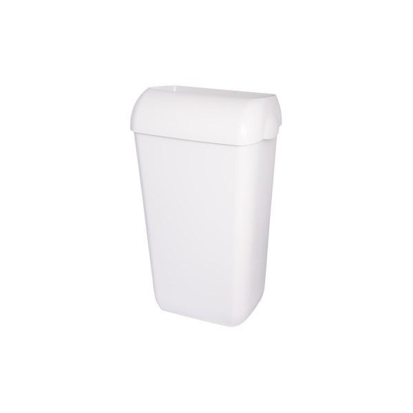Abfallbehälter, Mülleimer, Blanc, 25-Liter hängend, Wandmontage, abnehmbar