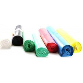Blanc Müllsäcke, verschiedene Sorten, Stärken und Farben