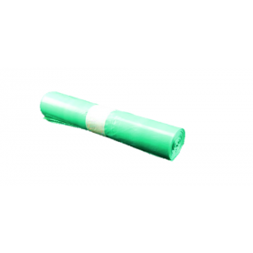 Qualitäts-Müllsack 70 Liter, grün, 33my, LDPE, 250 Beutel je SET