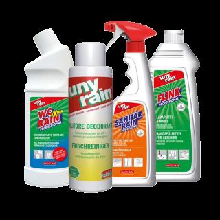Reinigungsmittel für Großmärkte & Baumärkte   Blanc Hygienic
