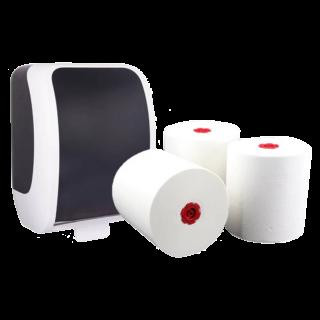 Hygienespender Sets für Großmärkte & Baumärkte | Blanc Hygienic