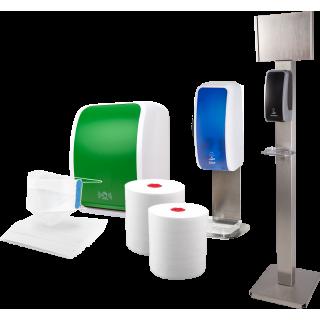 Hygienespender für Einzelhandel & Einkaufszentren | Blanc Hygienic